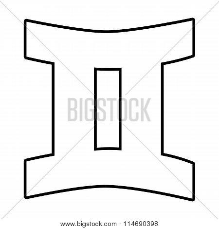 Zodiac sign isolated
