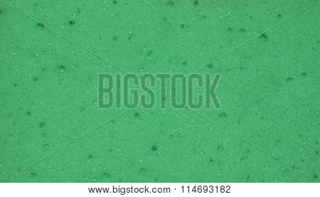 een porous texture. The texture of the sponge. Closeup