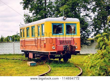 Vintage Railway Carriage