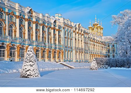 Tsarskoye Selo. Russia. The Catherine Palace