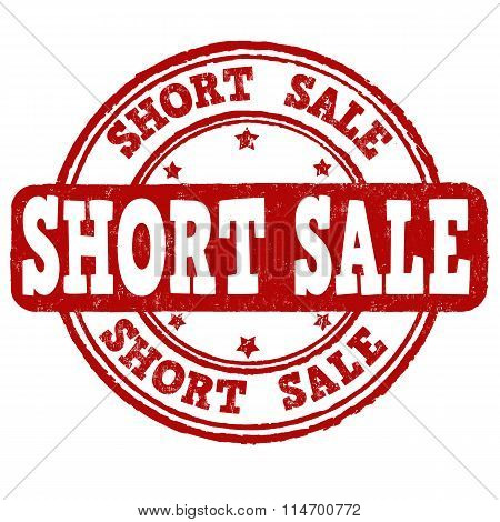 Short Sale Stamp
