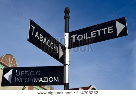 Italian directions