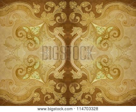 Ornate Decorated Seamless Background