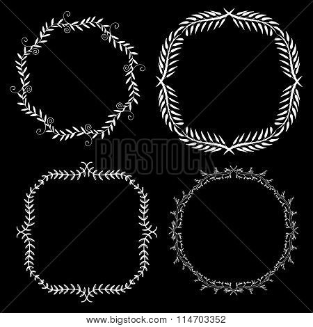 Set Decorative Frames.
