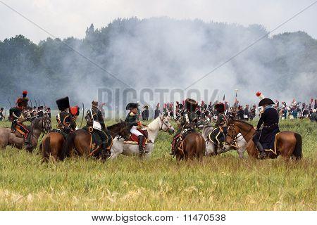 Re-enactment Battle Of Waterloo, Belgium 2009