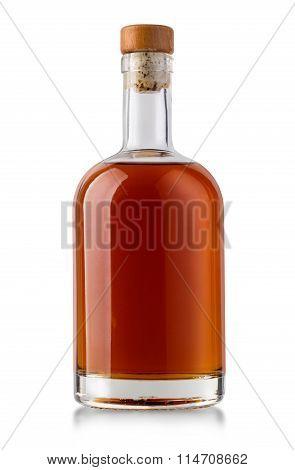 Full Whiskey Bottle