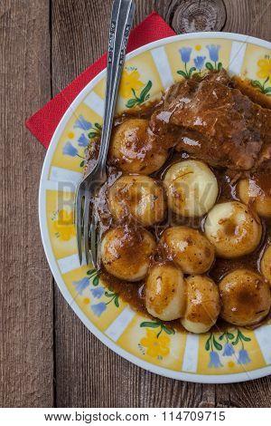 Tasty Homemade Dinner.