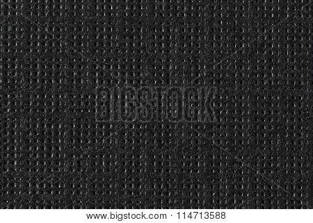 Black Textured Paper - Macro