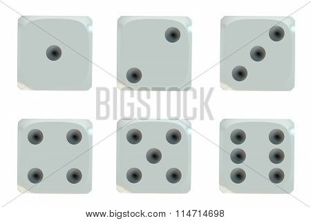 Dice, Top View