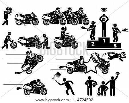 Icon Man Moto Gp