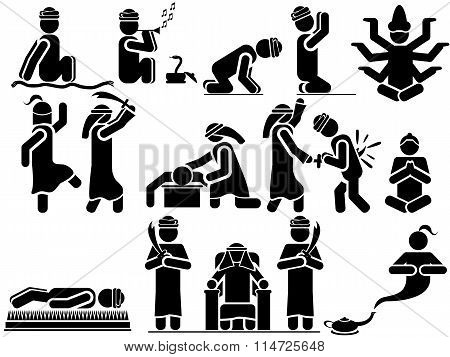 Icons Man Arabs