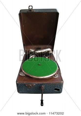 Retro Gramophone Or Record Player
