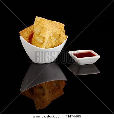 Fried Wantan Chips