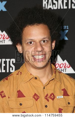 vLOS ANGELES - JAN 14:  Eric Andre at the Baskets Red Carpet Event at the Pacific Design Center on January 14, 2016 in West Hollywood, CA