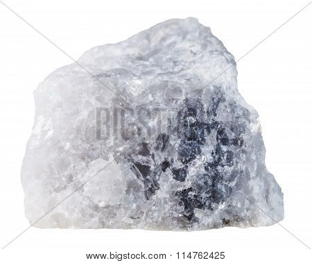 Marble Mineral Stone Isolated On White