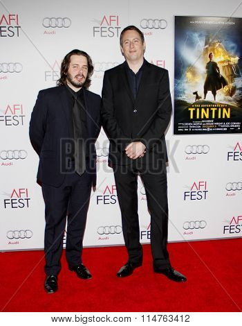 Edgar Wright and Joe Cornish at the AFI FEST 2011