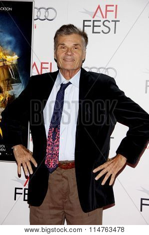 HOLLYWOOD, CALIFORNIA - November 10, 2011. Fred Willard at the AFI FEST 2011