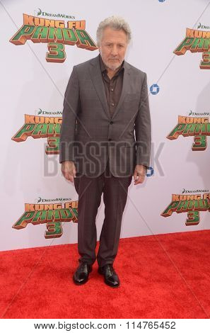 LOS ANGELES - JAN 16:  Dustin Hoffman at the Kung Fu Panda 3 Premiere at the TCL Chinese Theater on January 16, 2016 in Los Angeles, CA