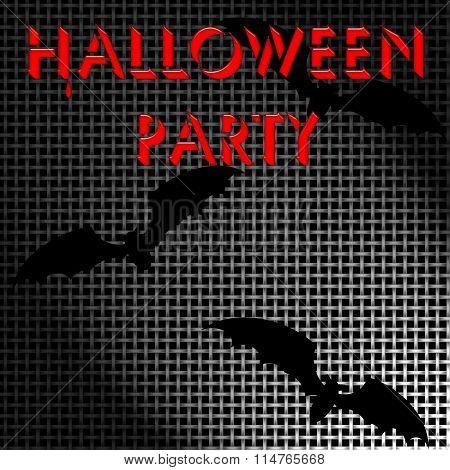Halloween screen poster