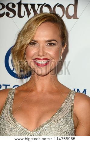 vLOS ANGELES - JAN 9:  Arielle Kebbel at the The Art of Elysium Ninth Annual Heaven Gala at the 3LABS on January 9, 2016 in Culver City, CA