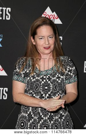 vLOS ANGELES - JAN 14:  Martha Kelly at the Baskets Red Carpet Event at the Pacific Design Center on January 14, 2016 in West Hollywood, CA