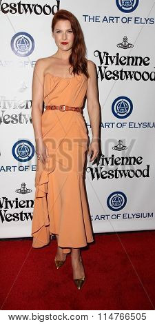 vLOS ANGELES - JAN 9:  Ali Larter at the The Art of Elysium Ninth Annual Heaven Gala at the 3LABS on January 9, 2016 in Culver City, CA