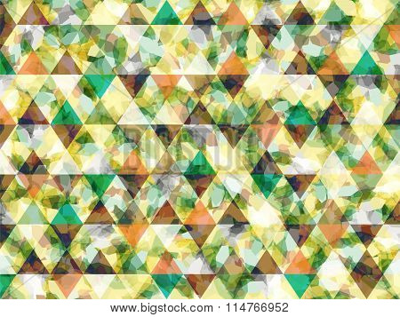 Abstract Shapes Triangle Background Light