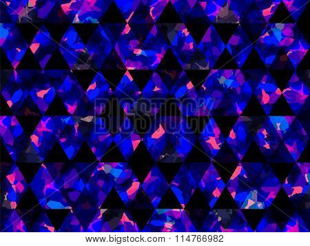 Abstract Shapes Triangle Background Pink Blue