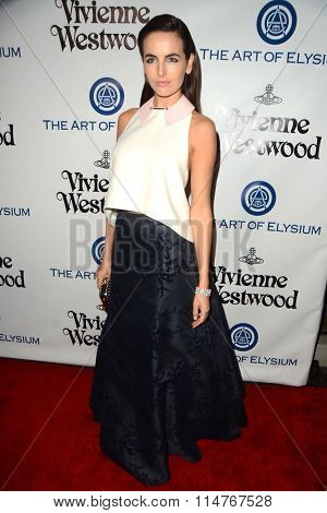 vLOS ANGELES - JAN 9:  Camilla Belle at the The Art of Elysium Ninth Annual Heaven Gala at the 3LABS on January 9, 2016 in Culver City, CA