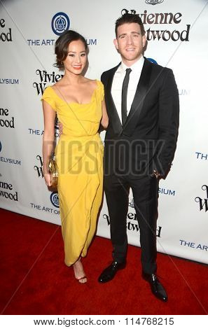 vLOS ANGELES - JAN 9:  Jamie Chung, Bryan Greenberg at the The Art of Elysium Ninth Annual Heaven Gala at the 3LABS on January 9, 2016 in Culver City, CA