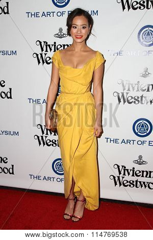 vLOS ANGELES - JAN 9:  Jamie Chung at the The Art of Elysium Ninth Annual Heaven Gala at the 3LABS on January 9, 2016 in Culver City, CA