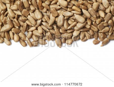 Copyspace sunflower seeds composition