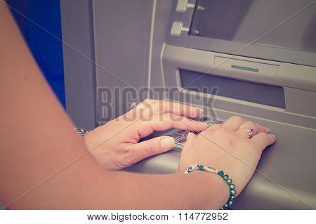 ATM PIN code.