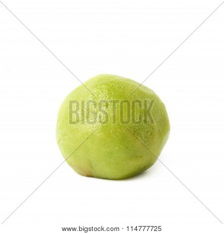 Wasabi paste ball isolated