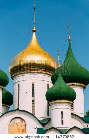Transfiguration Cathedral in Monastery of Saint Euthymius in Suz
