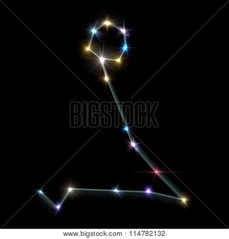 Pisces Horoscopes With Black Background