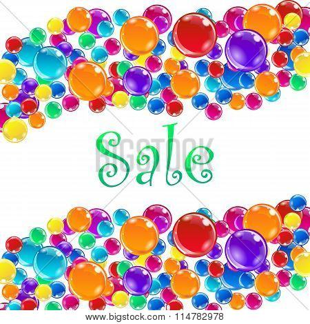 Word Sale and baloons