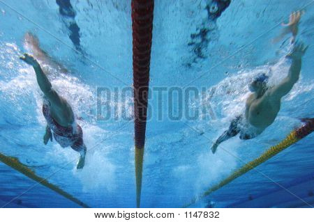 Swimming Action 1
