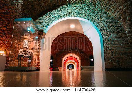 Brest Fortress Museum in Brest, Belarus.