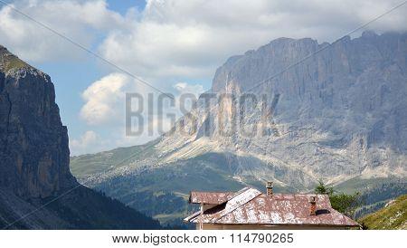 Gardena Pass Dolomiti Unesco