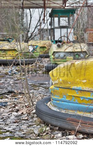 Abandoned Amusement Park In Pripyat