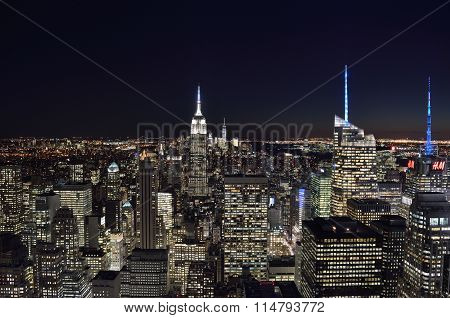 The Lights Of The Nyc.