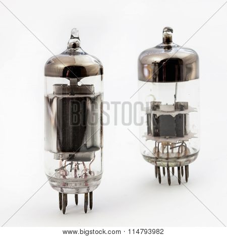 Two Old Vacuum Tubes