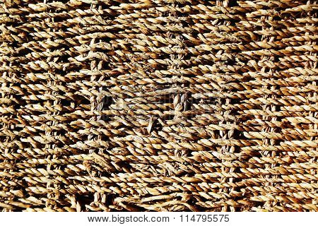 wattled background basket