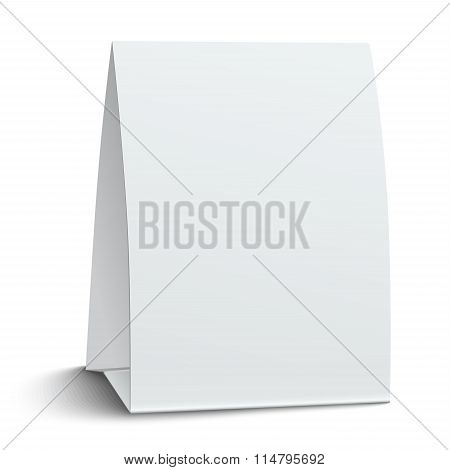 Blank Paper Table Card