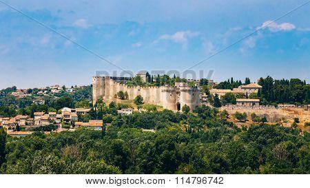 Panorama of Castle Villeneuve les Avignon, France