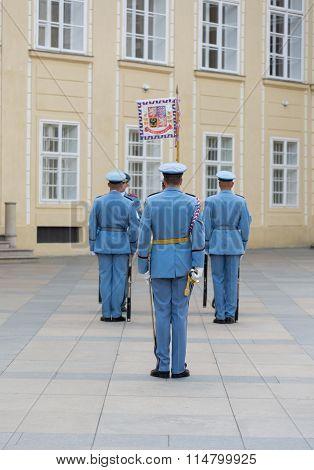 Change Of The Guard- Prague - Czech