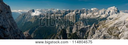 Julian Alps I., Panorama