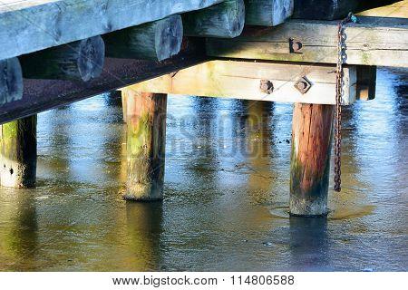 Underside Of Pier
