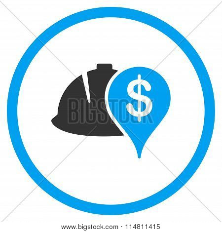 Development Financial Status Flat Icon